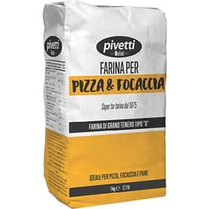 Faina de grau pentru pizza si focaccia tip 0 PIVETTI, 1kg