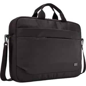 "Geanta laptop CASE LOGIC ADVA-116-BLACK, 15.6"", poliester, negru"