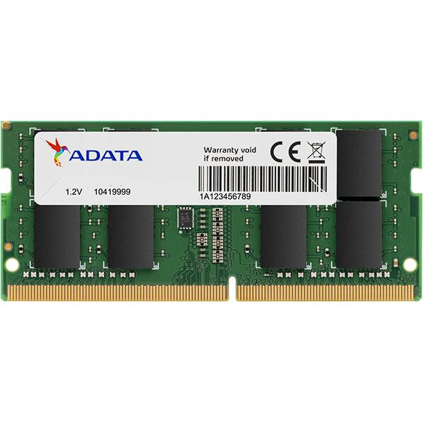 Memorie laptop ADATA, 32GB DDR4, 2666MHz, CL19, AD4S2666732G19-SGN
