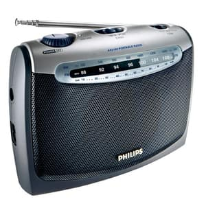 Radio portabil PHILIPS AE2160/00C, FM, negru