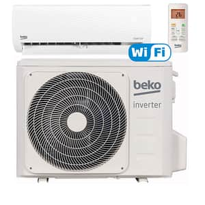 Aer conditionat BEKO BRWPG120, 12000 BTU, A++/A+, Wi-Fi, kit instalare inclus, alb