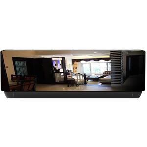 Aer conditionat VORTEX VAI2420JPMRBW, 24000 BTU, A++/A+, Wi-Fi, kit instalare inclus, negru oglinda-alb