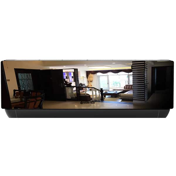 Aer conditionat VORTEX VAI1220JPMRBW, 12000 BTU, A++/A+, Wi-Fi, kit instalare inclus, negru oglinda-alb