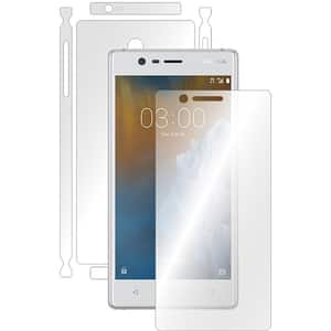 Folie protectie pentru Nokia 3, SMART PROTECTION, fullbody, polimer, transparent