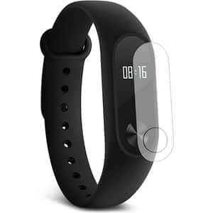 Folie protectie pentru Smartband Fitness Xiaomi Mi Band 2, SMART PROTECTION, display, 2 folii incluse, polimer, transparent