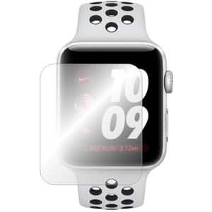 Folie protectie pentru Apple Watch Series 3 42mm, SMART PROTECTION, display, 2 folii incluse, polimer, transparent