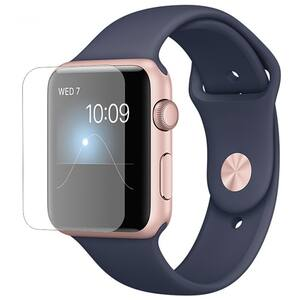 Folie protectie pentru Apple Watch Series 2 38mm, SMART PROTECTION, display, 2 folii incluse, polimer, transparent