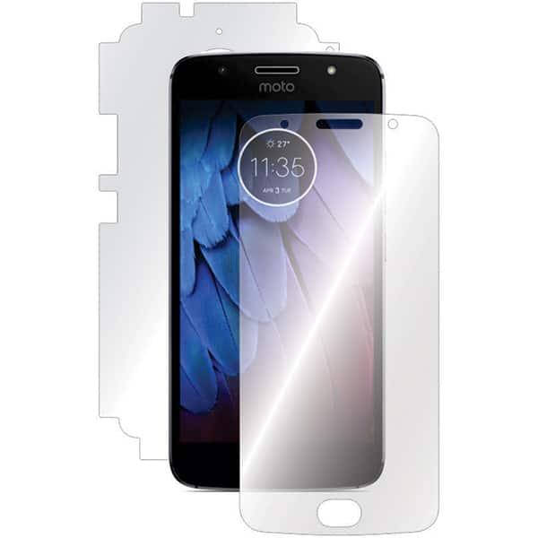 Folie protectie pentru Motorola G5S, SMART PROTECTION, fullbody, polimer, transparent