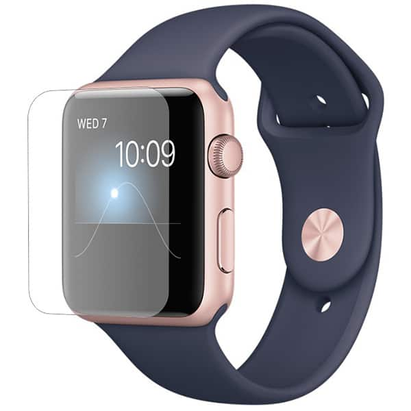 Folie protectie pentru Apple Watch Series 2 42mm, SMART PROTECTION, display, 2 folii incluse, polimer, transparent