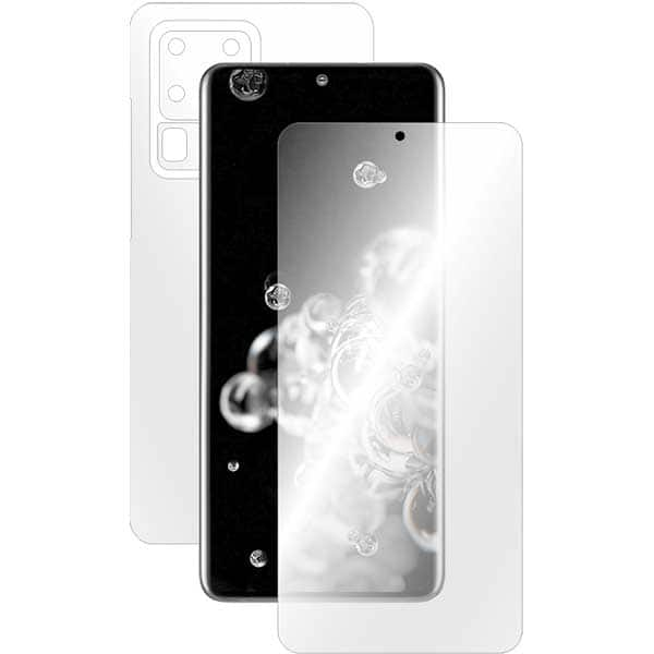 Folie protectie pentru Samsung Galaxy S20 Ultra, SMART PROTECTION, polimer, fullbody, transparent