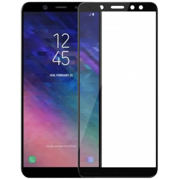 Folie Tempered Glass pentru Samsung Galaxy A6+ (2018), TELLUR TLL145445, negru