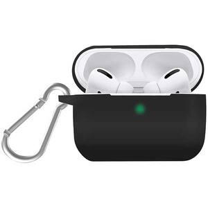 Husa pentru Apple AirPods PROMATE SiliCase Pro, negru