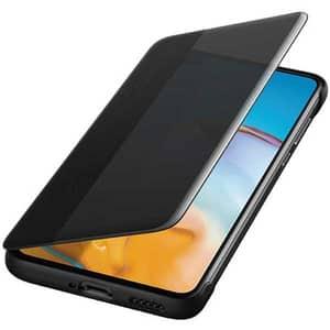 Husa Smart View Cover pentru HUAWEI P40, 51993703, negru