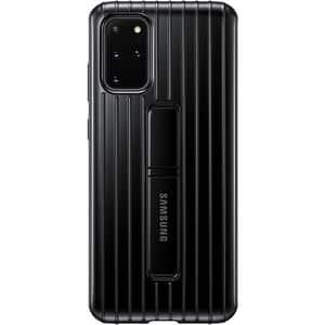 Husa Protective Standing pentru SAMSUNG Galaxy S20 Plus, EF-RG985CBEGEU, negru