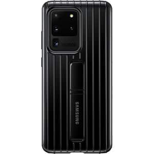 Husa Protective Standing pentru SAMSUNG Galaxy S20 Ultra, EF-RG988CBEGEU, negru