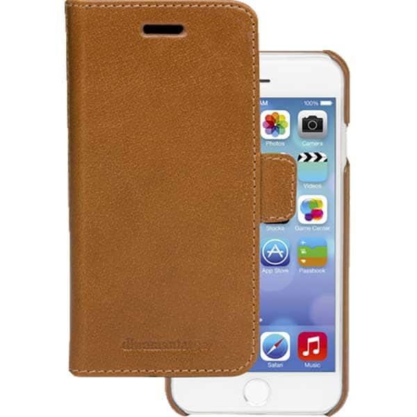 Husa Flip Cover pentru Apple iPhone 6 / 7 / 8, DBRAMANTE1928 Lynge, 172825, maro