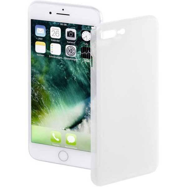 Carcasa pentru Apple iPhone 7 Plus / 8 Plus, HAMA Ultra Slim, 177822, alb