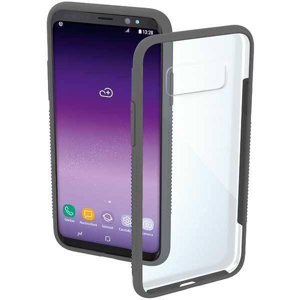 Carcasa pentru Samsung Galaxy S8+, HAMA Frame, 182713, transparent-gri