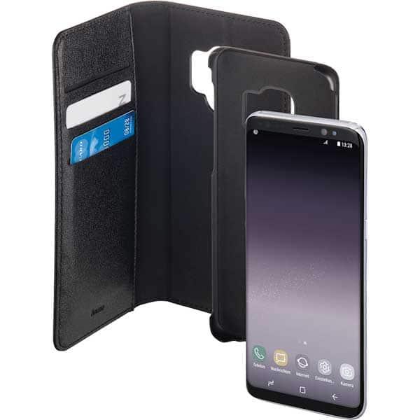 Husa Flip Cover pentru Samsung Galaxy S9, HAMA 2in1, 182986, negru