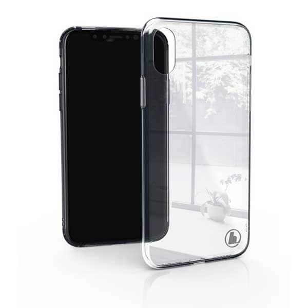 Carcasa pentru Apple iPhone X / Xs, HAMA Glass, 184268, transparent