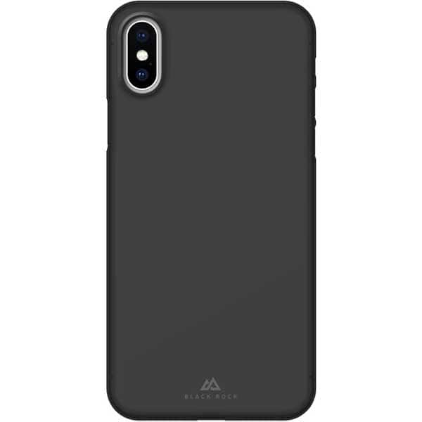Carcasa pentru Apple iPhone X / Xs, BLACK ROCK Ultra Thin Iced, 184411, negru