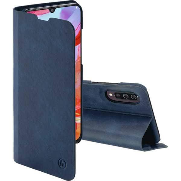 Husa Flip Cover pentru Samsung Galaxy A70, HAMA Guard Pro, 186689, albastru