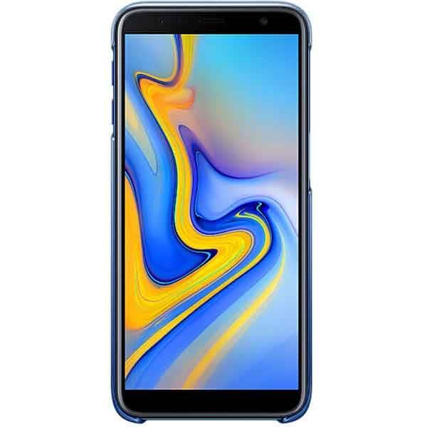 Carcasa Gradation pentru SAMSUNG Galaxy J6 Plus, EF-AJ610CLEGWW, albastru