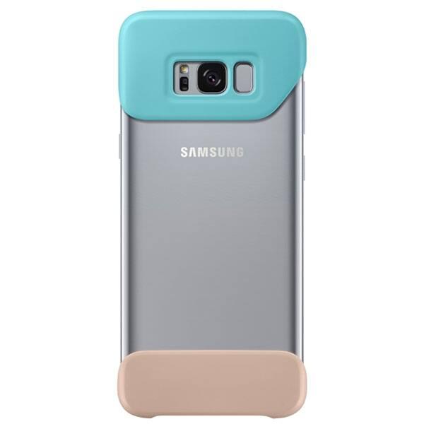 Husa 2 piese pentru SAMSUNG Galaxy S8 Plus, EF-MG955CMEGWW, Verde/Maro