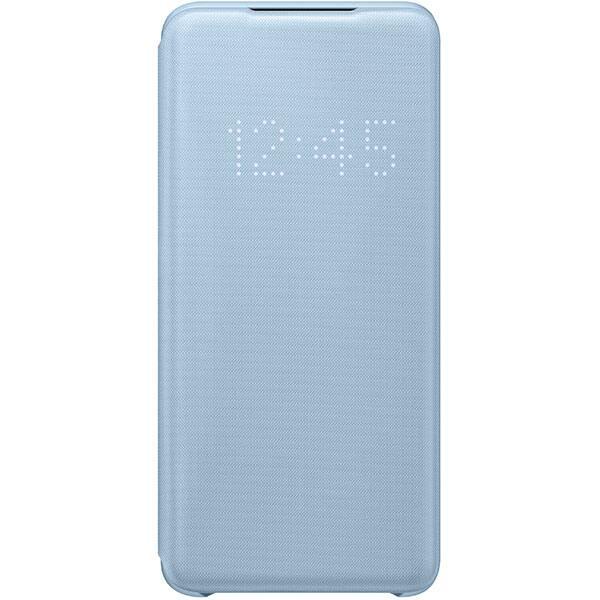 Husa LED View pentru SAMSUNG Galaxy S20, EF-NG980PLEGEU, albastru