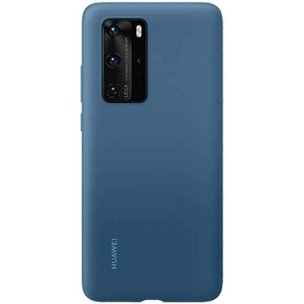 Carcasa pentru HUAWEI P40 Pro, 51993799, silicon, albastru