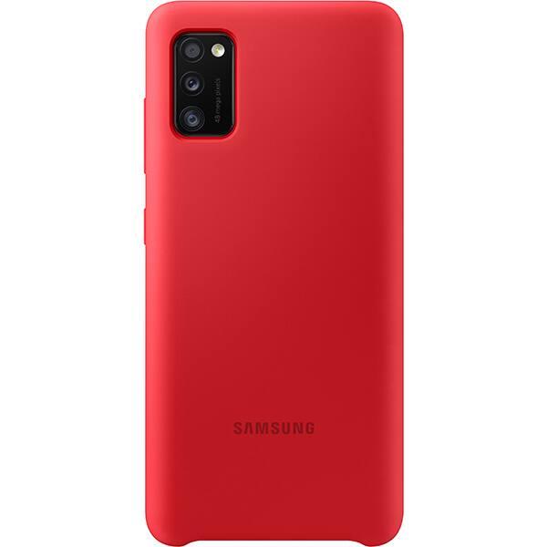 Carcasa pentru SAMSUNG Galaxy A41 EF-PA415TREGEU, rosu