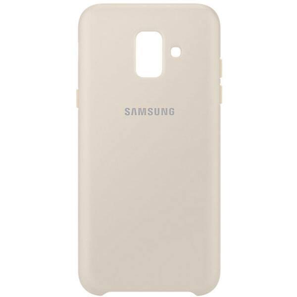 Carcasa Dual Layer pentru SAMSUNG Galaxy A6, EF-PA600CFEGWW, Gold