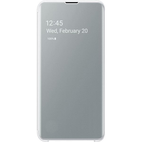 Husa Clear View pentru SAMSUNG Galaxy S10e EF-ZG970CWEGWW, white
