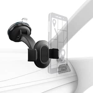 Suport auto universal HAMA 178334 Smart Grip 2, parbriz, negru