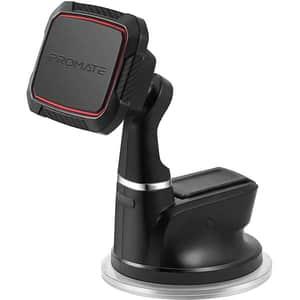 Suport auto universal PROMATE Magmount-5, magnetic, parbriz/bord, rosu
