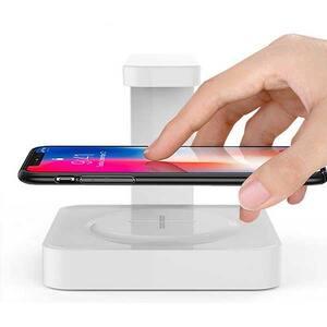Sterilizator UV SM-02 + Incarcator wireless telefon, alb
