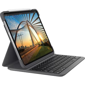"Husa cu tastatura LOGITECH Slim Folio Pro pentru iPad Pro 12.9"" (3rd gen-4th gen), 920-009710, negru"