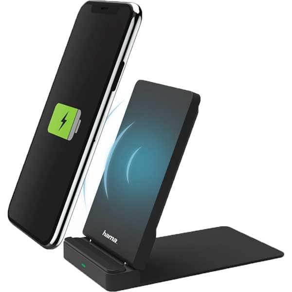 Incarcator wireless HAMA 183346, universal, QI, negru