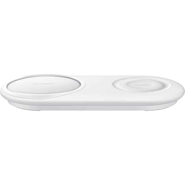 Incarcator wireless SAMSUNG Duo Pad EP-P5200TBEGWW, universal, QI, alb