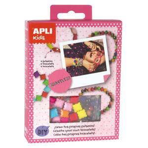 Set creativ APLI Creaza-ti propria bratara AL014707, multicolor
