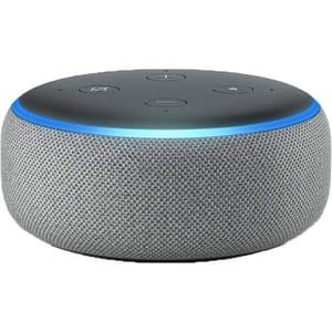 Boxa inteligenta AMAZON Echo Dot 3nd Gen, Amazon Alexa, Bluetooth, Wi-Fi, gri