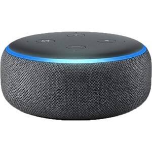 Boxa inteligenta AMAZON Echo Dot 3rd Gen, Amazon Alexa, Bluetooth, Wi-Fi, negru