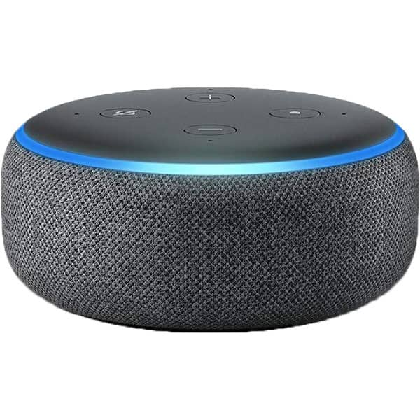Boxa inteligenta AMAZON Echo Dot 3nd Gen, Amazon Alexa, Bluetooth, Wi-Fi, negru