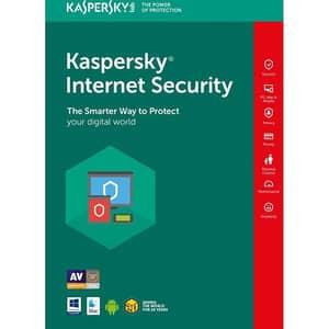 Antivirus KASPERSKY Internet Security 2019, 1 an, 3 utilizatori, Licenta de reinnoire, Retail