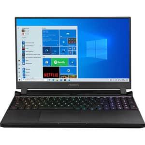 "Laptop GIGABYTE Aorus 15G KC, Intel Core i7-10870H pana la 4GHz, 15.6"" Full HD, 16GB, SSD 512GB, NVIDIA GeForce RTX 3060 6GB, Windows 10 Home, negru"