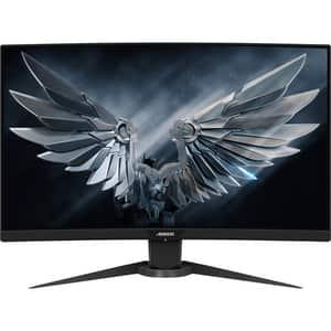 "Monitor Gaming curbat GIGABYTE Aorus CV27F, 27"", Full HD, 165Hz, negru"