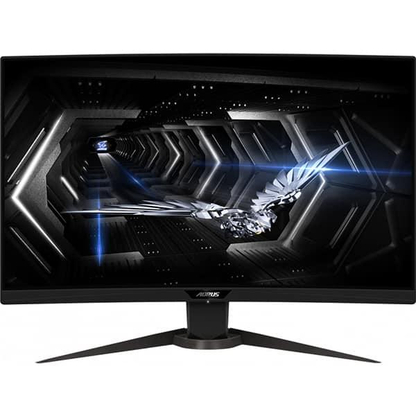 """Monitor Gaming curbat LED VA GIGABYTE Aorus CV27Q, 27"""", QHD, 165Hz, negru"""