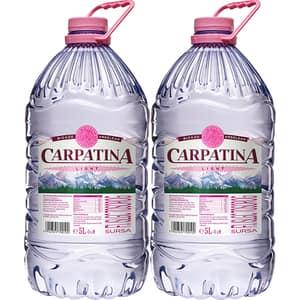 Apa minerala CARPATINA Light bax 5L x 2 sticle