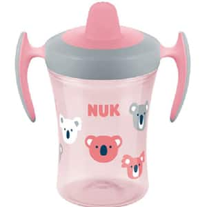 Cana NUK Evolution Trainer 10255385, 6 luni+, 230ml, roz-gri