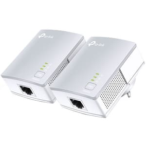 Kit adaptor PowerLine TP-LINK AV600 TL-PA411, 600Mbps, alb